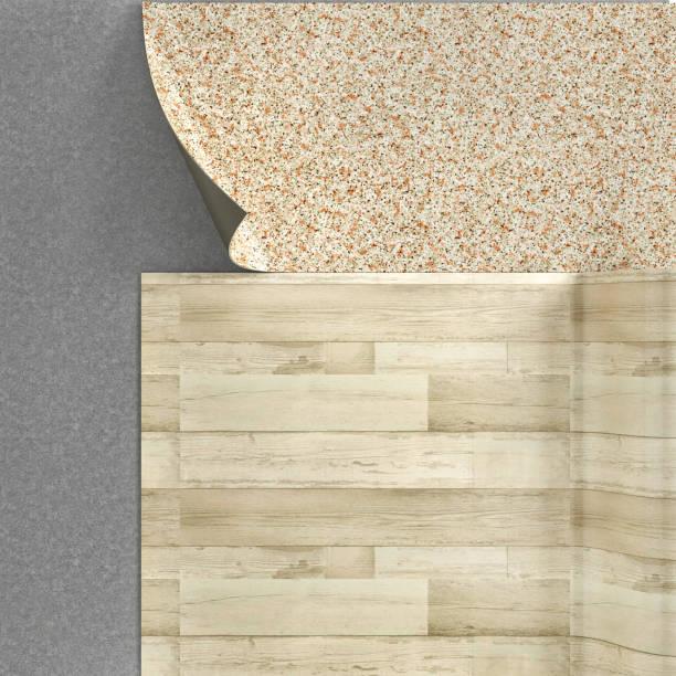 bodenleger. linoleumboden. 3d illustration - laminat günstig stock-fotos und bilder