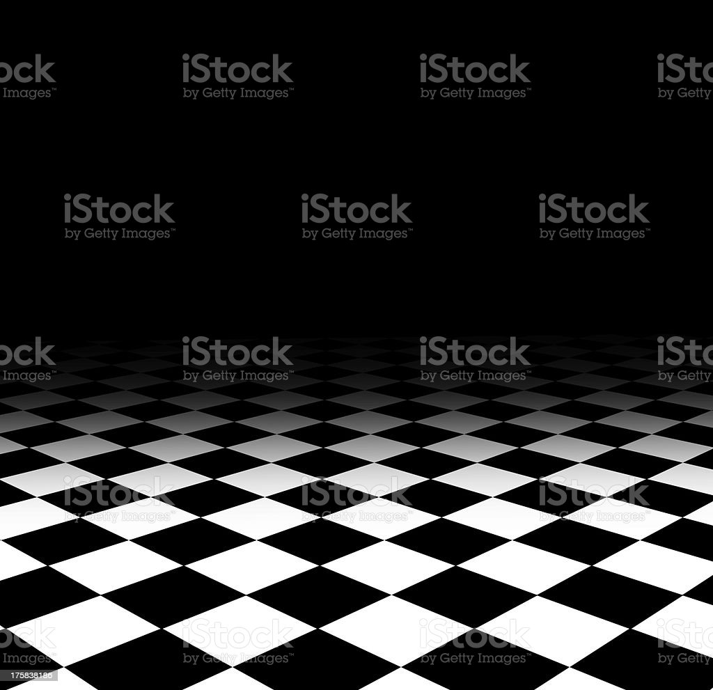 floor pattern chess royalty-free stock photo