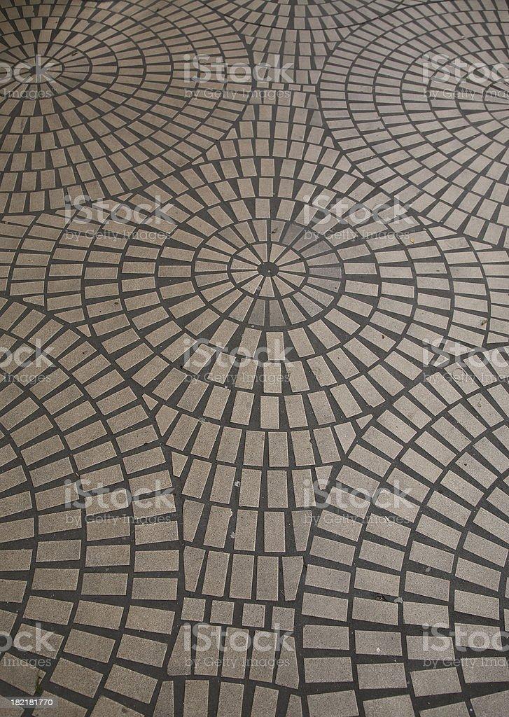 Floor Pattern stock photo