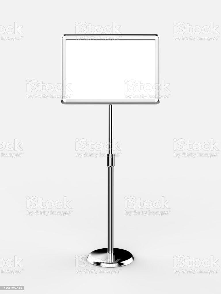A3 A4 Floor Standing Menu Poster Display Holder Snap Frame ...