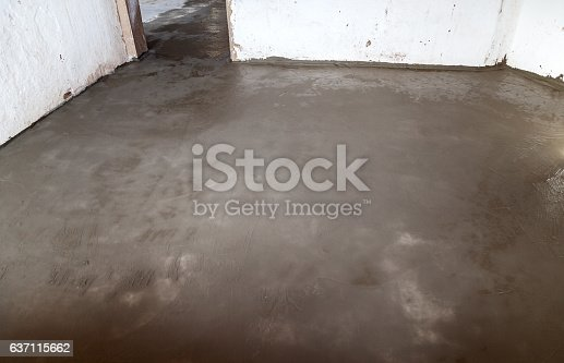 Floor Surface Cement Insulation