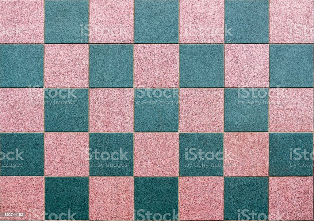 Floor table checkered tiled flat background stock photo
