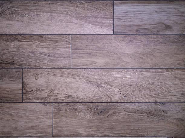 Mattonelle legno look - foto stock
