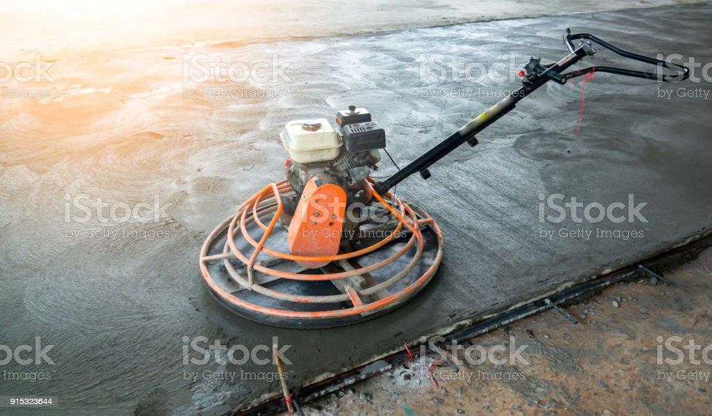 Bodenbelagbeton Oder Zementbodenmaschine Dies Fur Arbeitnehmer