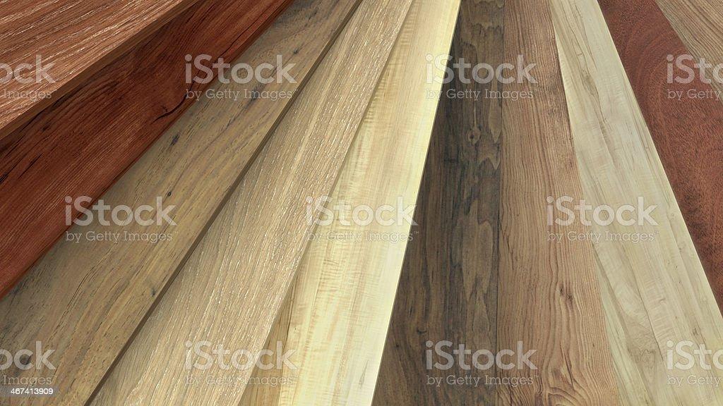 Flooring laminate or parquet samples stock photo