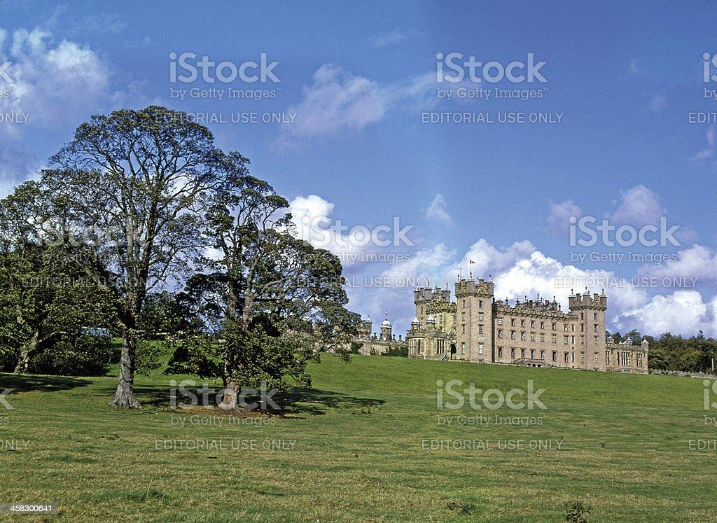 Floors Castle, Kelso Roxburghshire Scotland stock photo