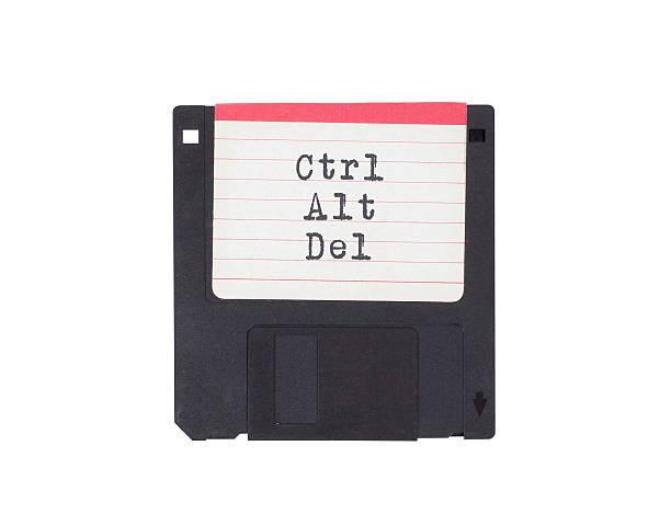 Disquete, soporte de almacenamiento de datos - foto de stock