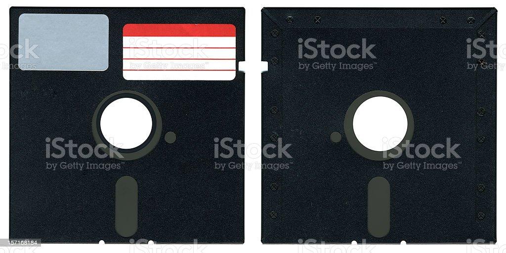 5.25' Floppy Disk royalty-free stock photo