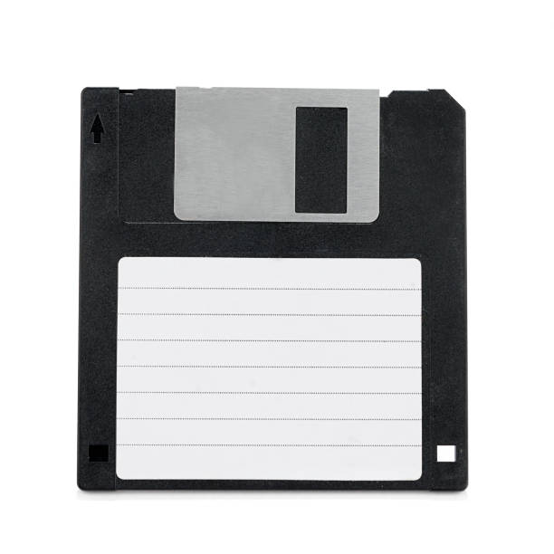 diskette mit label - datenspeicher diskette stock-fotos und bilder