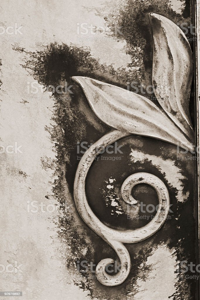 flora curl royalty-free stock photo