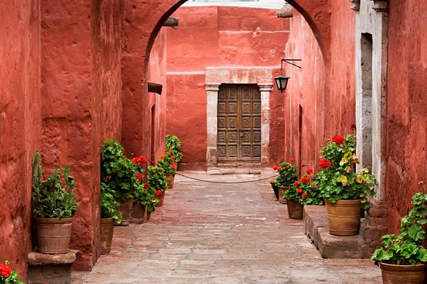 植物のサンタカタリナ修道院(monasterio デサンタカタリナ - プノ ストックフォトと画像