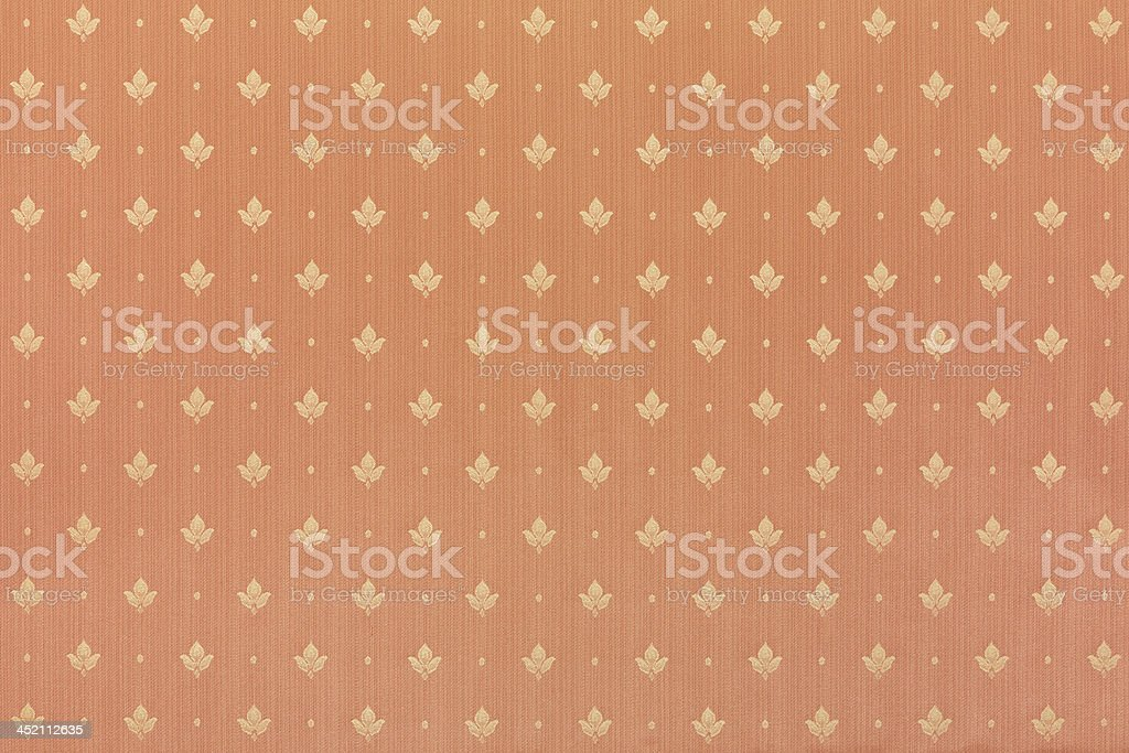 Floral abstract brown wallpaper royalty-free stock photo