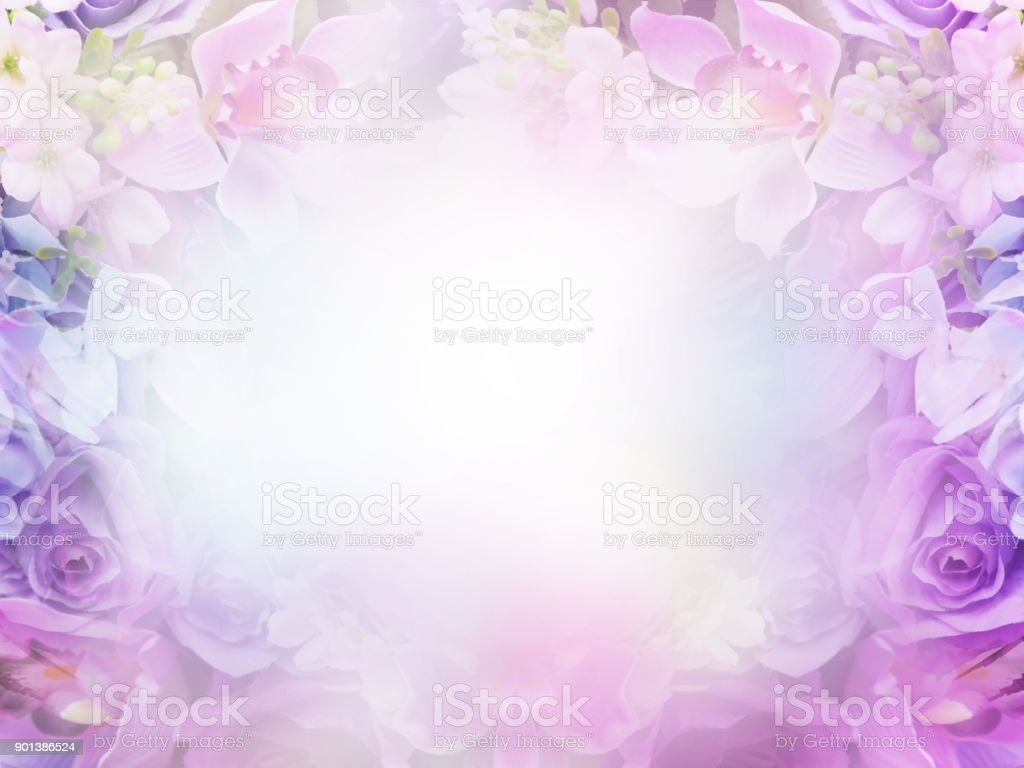 Floral Abstract Pastel Background With Copy Space Stock Photo Download Image Now Istock