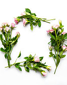 istock Floral border with blank space 1273253790