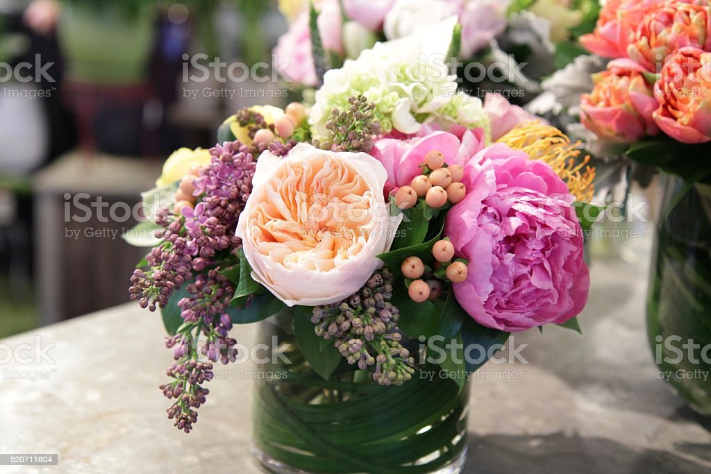 Floral Bouquet stock photo