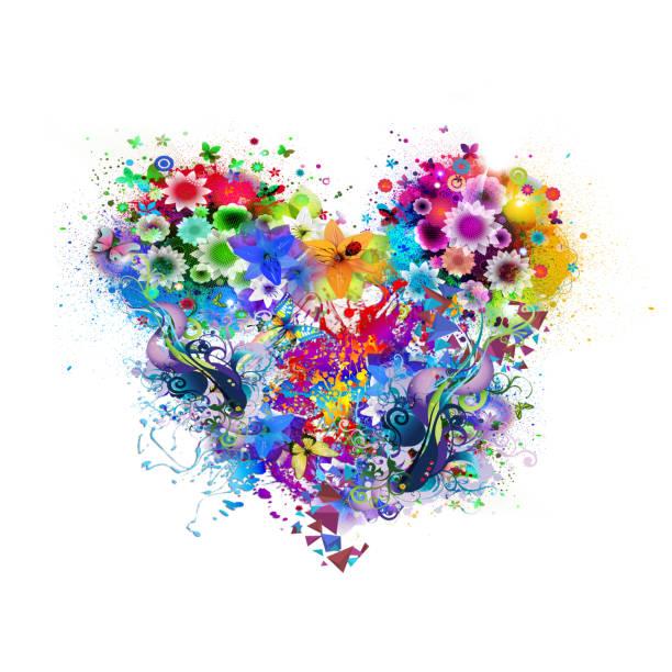 Floral colorful heart picture id827489920?b=1&k=6&m=827489920&s=612x612&w=0&h=mgmlaj8rafixfuninlmtkd6hnxfbax5mjfrhvepzk6g=