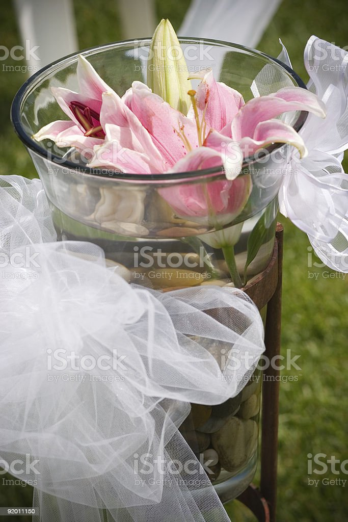 Floral Decoration royalty-free stock photo