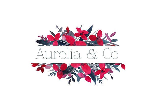 Floral logo. – Foto