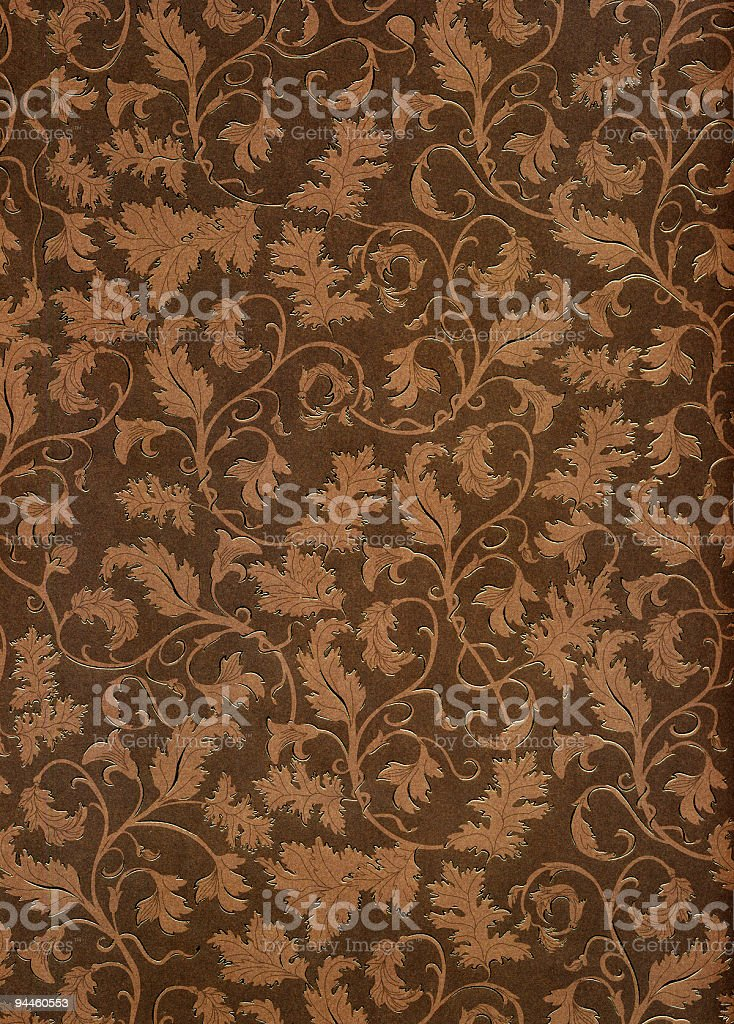 Floral Motif royalty-free stock photo