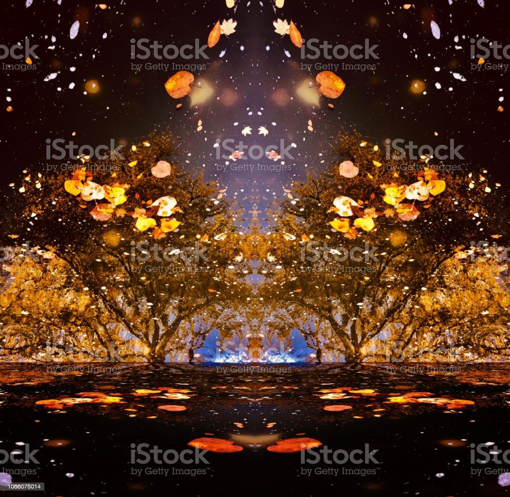 Floral Art Fantasy Hintergrund – Foto
