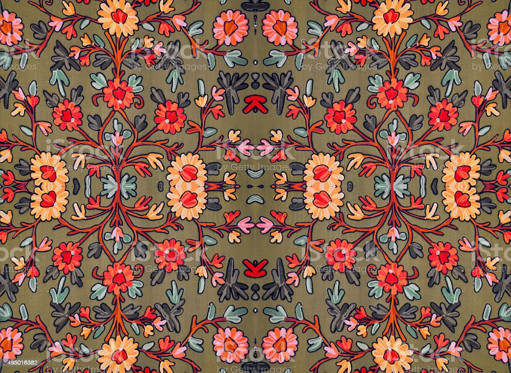 floral pattern for decjrating stock photo
