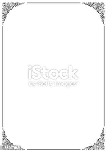 istock floral pattern frame 483507585