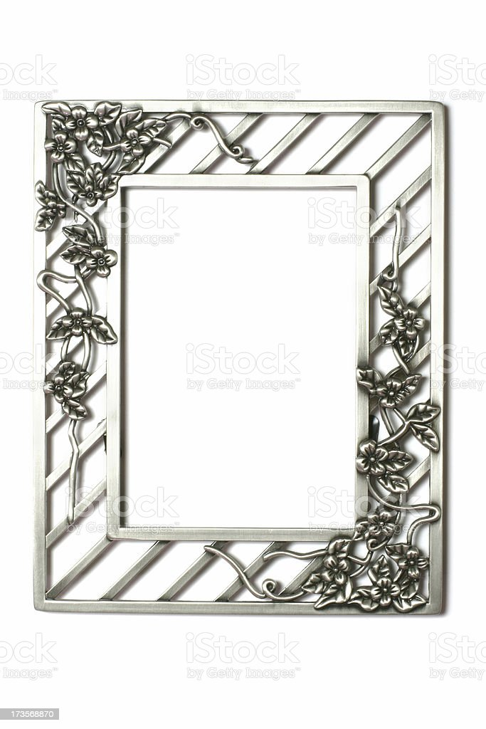 Floral Picture Frame royalty-free stock photo