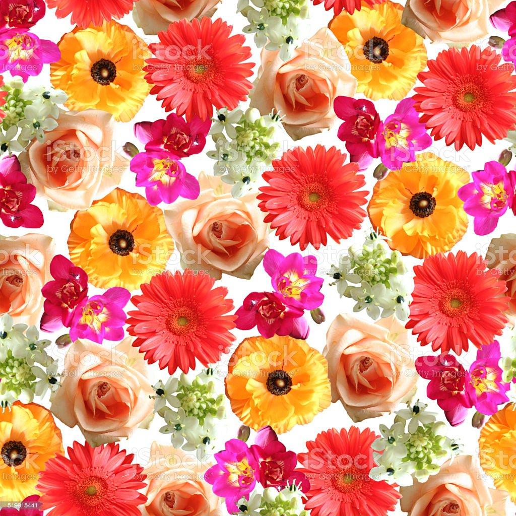 Floral Print stock photo