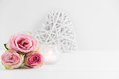 Floral styled mock up photograph