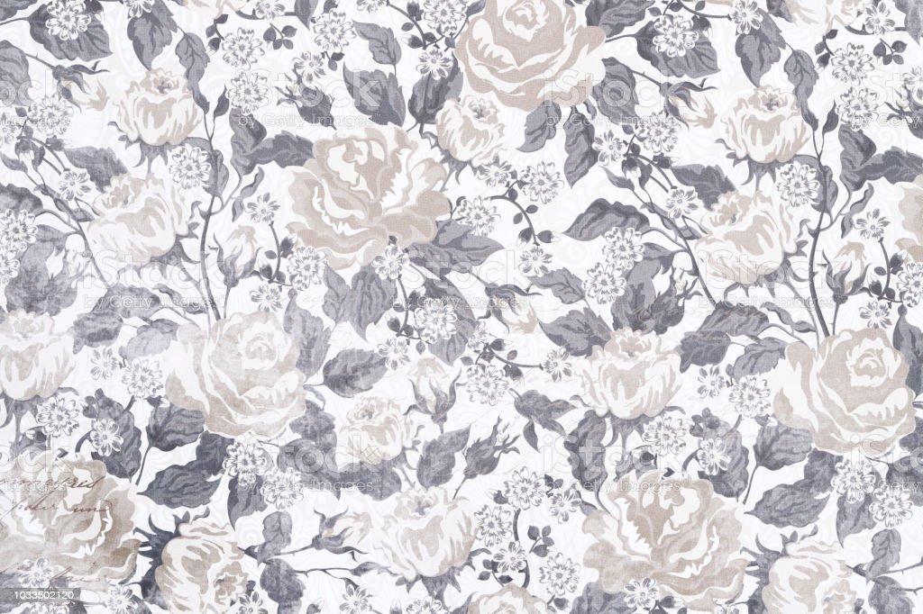 花のビンテージシームレスなパターン ストックフォト
