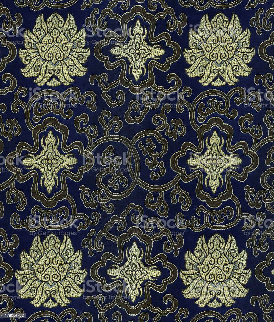 Floral vintage wallpaper background royalty-free stock photo