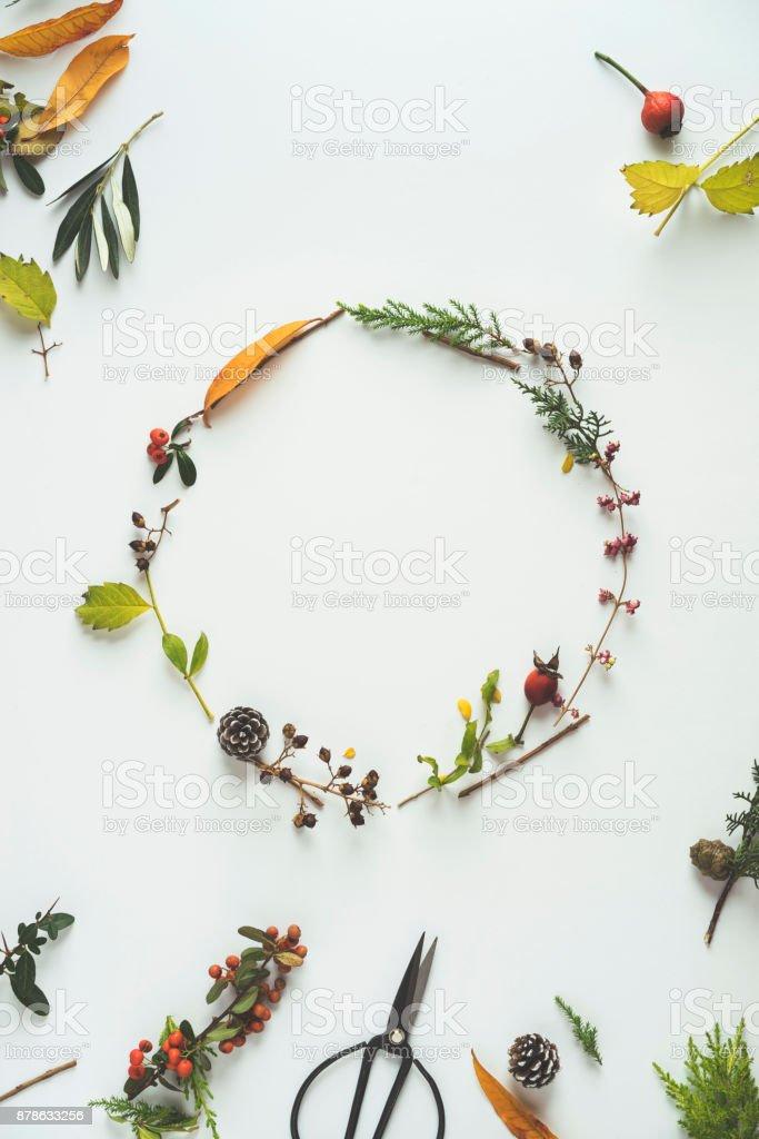 Floral Winter Kranz – Foto