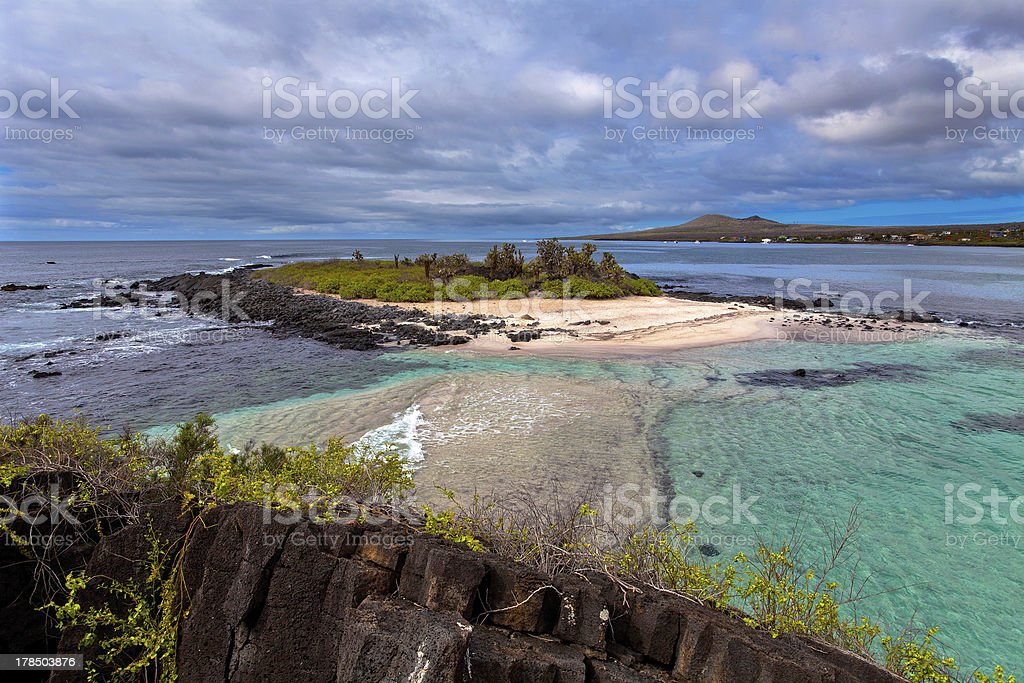 Floreana Island, Galapagos Islands, Ecuador royalty-free stock photo