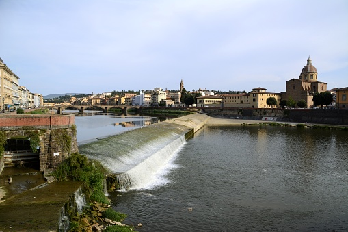 Florence and Arno river, Tuscany, Italy