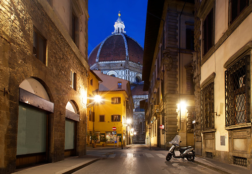 Florence and cathedral