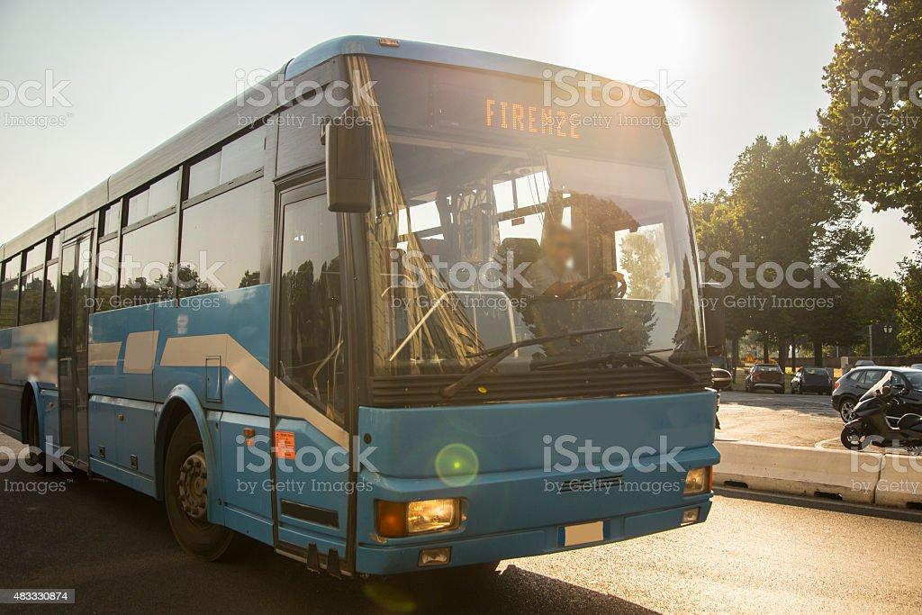 Firenze autobus - foto stock