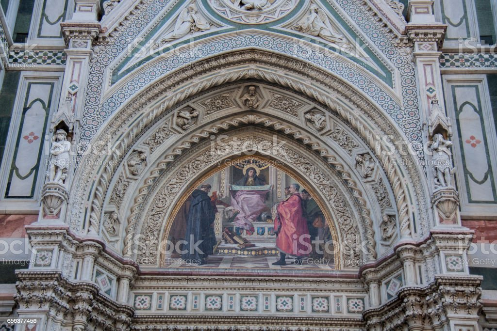 Florence Cathedral, Duomo, Italy стоковое фото