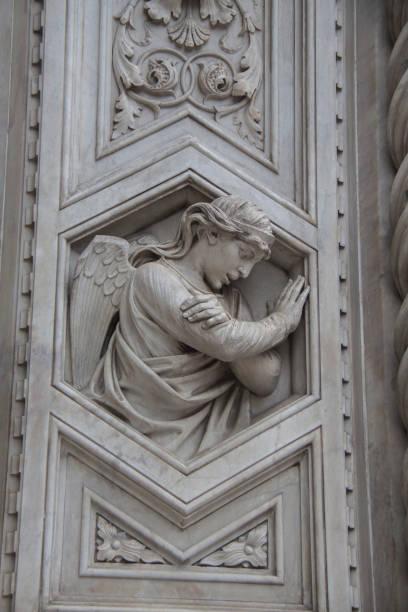 florence cathedral, duomo, italy - batalina madonna стоковые фото и изображения