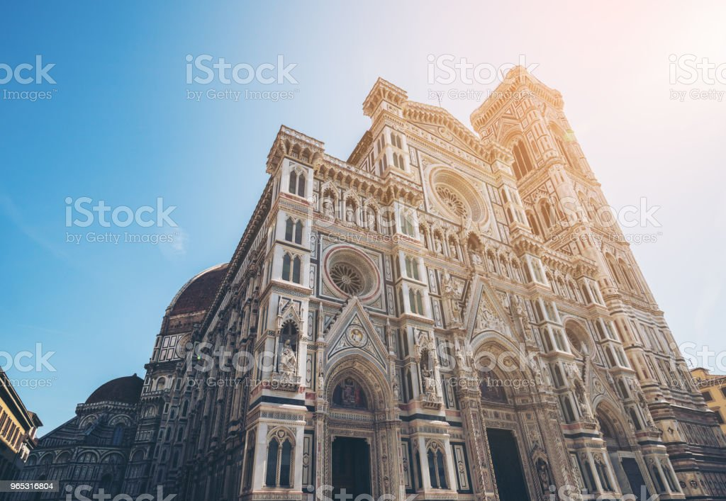 Florence Cathedral in Florence - Italy zbiór zdjęć royalty-free