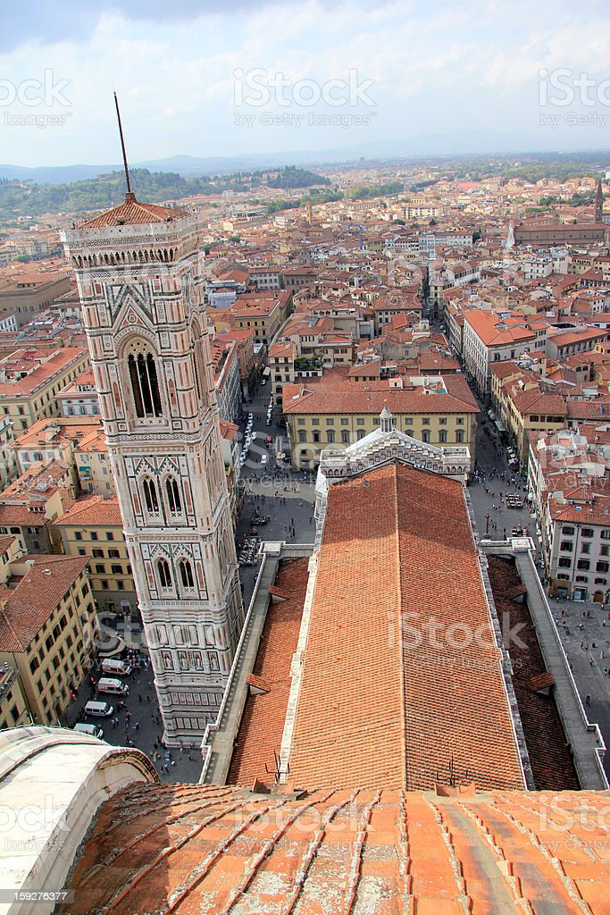 Florence Cathedral in Italy royalty-free stock photo