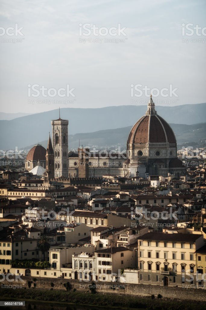 Florence Cathedral of Florence - Italy zbiór zdjęć royalty-free