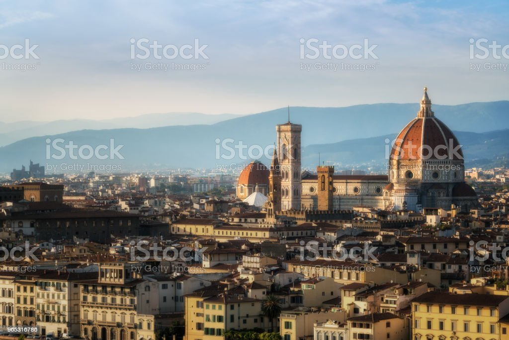 Florence Cathedral of Florence - Italy zbiór zdjęć royalty-free