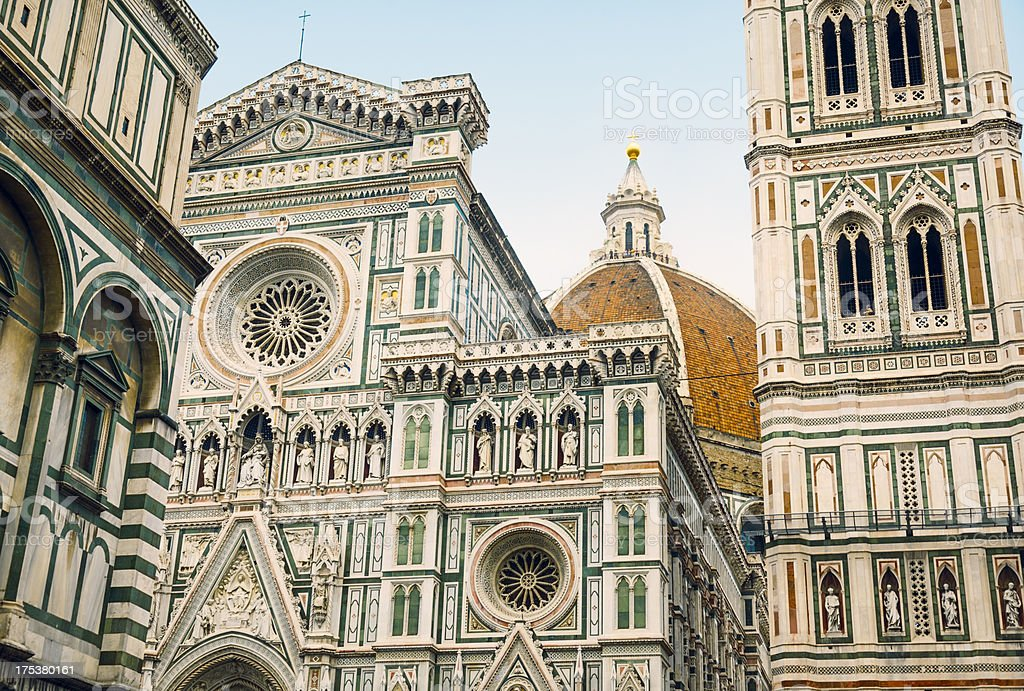 Florence Cathedral (Tuscany, Italy) royalty-free stock photo
