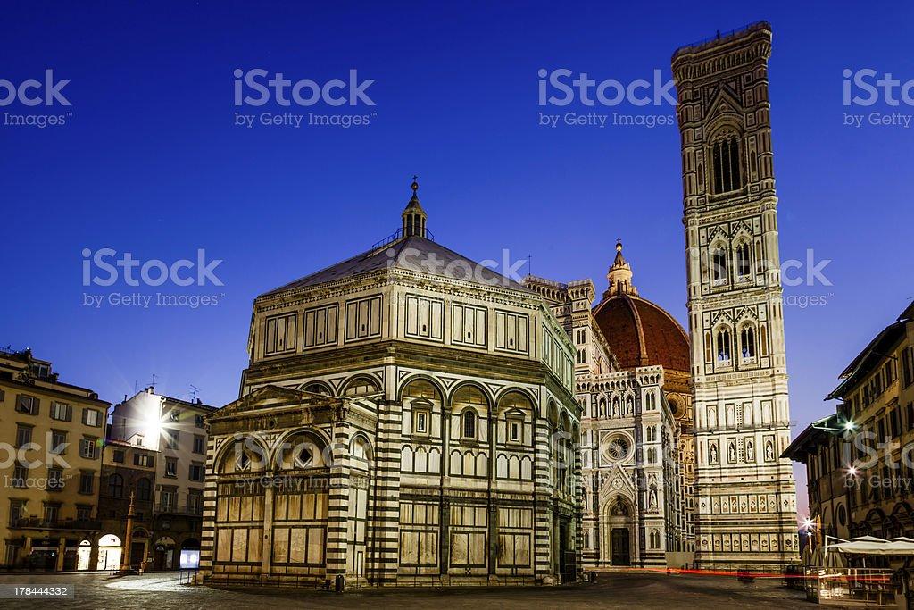 Florence Cathedral (Duomo - Basilica di Santa Maria del Fiore) royalty-free stock photo