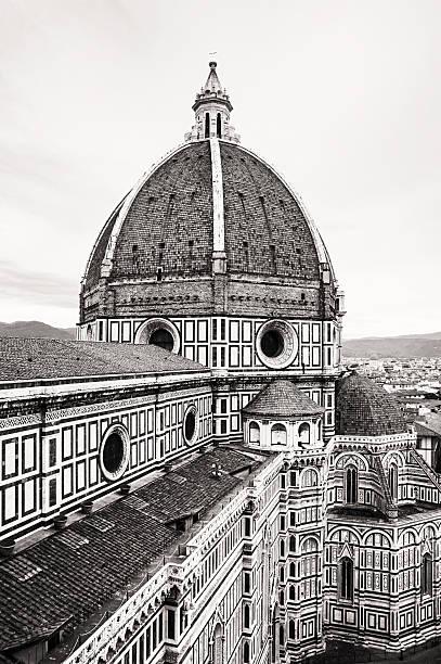 Florence cathedral Santa Maria del Fiore, colorless – Foto