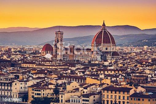 Capital city of the Italian region of Tuscany