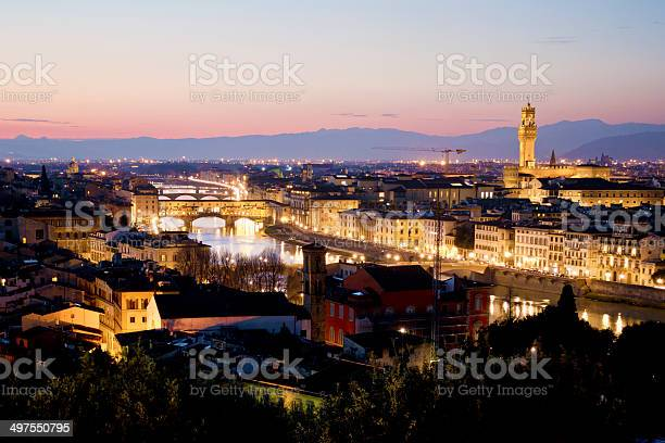 Florence cityscape at dusk italy picture id497550795?b=1&k=6&m=497550795&s=612x612&h=oiopz 3zcck qyu6epgpvhsbw7qlklfadob  o s7ws=
