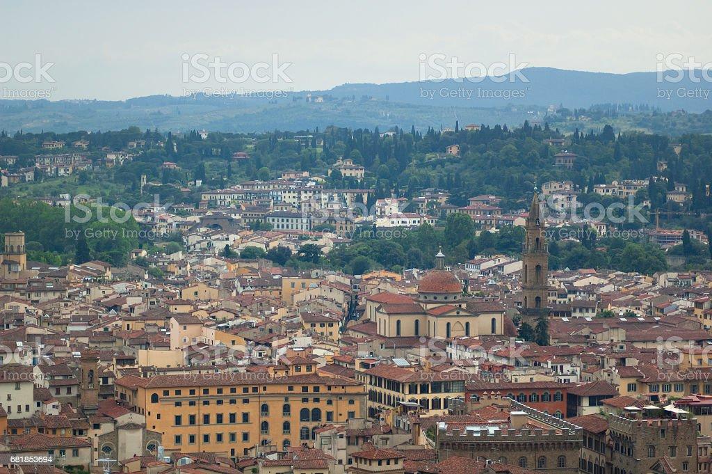 Florence Cityscape стоковое фото