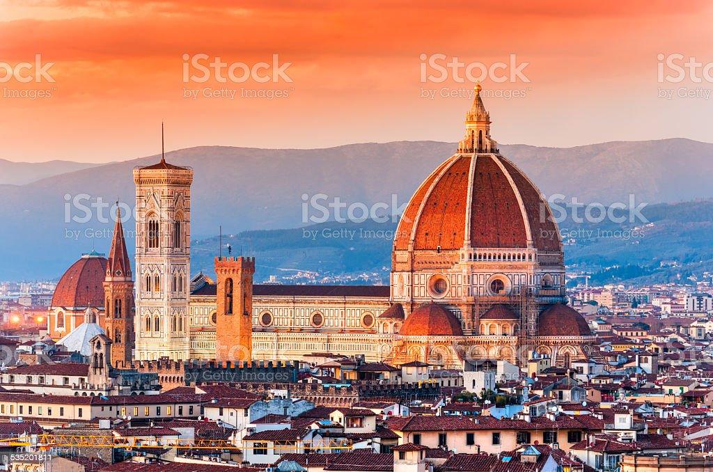 Florence Duomo. Tuscany. stock photo