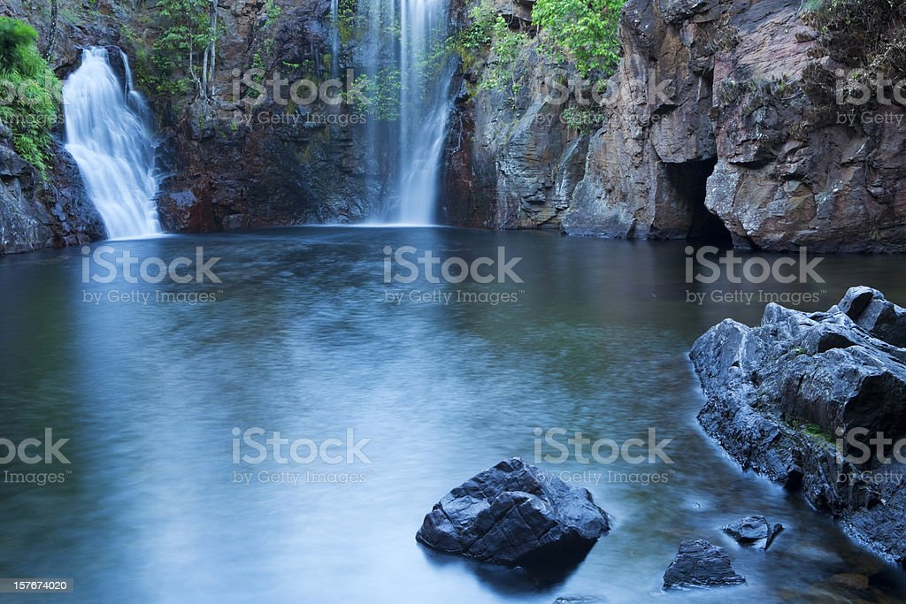Florence Falls in Litchfield National Park, Northern Territory, Australia stock photo